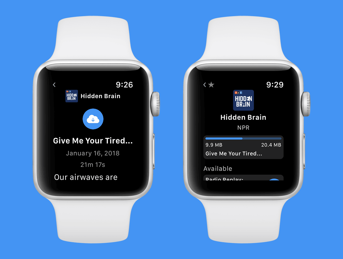 Outcast for Apple Watch